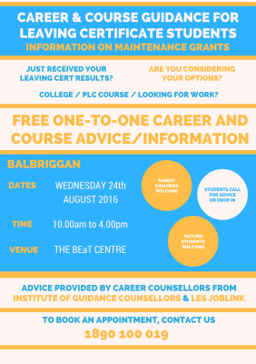 Career Guidance - Balbriggan