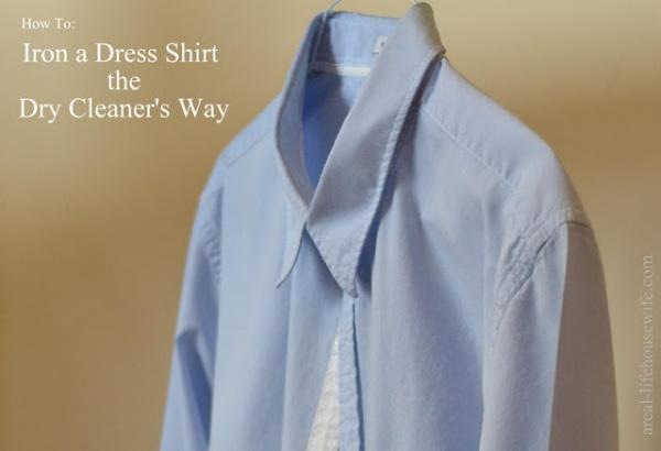 How to Iron a Dress Shirt?