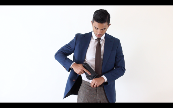 How to Conceal Carry in Tailored Clothing