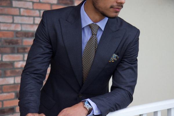 How to Wear a Sharkskin Suit