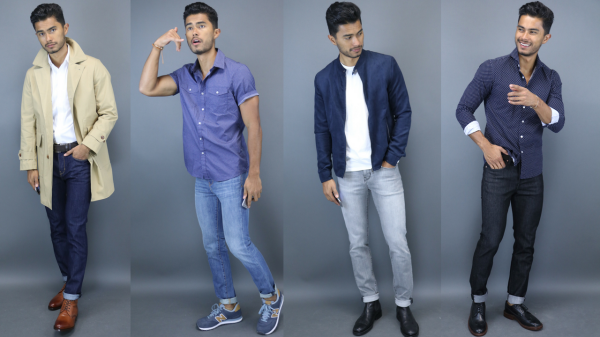 The 4 Shades of Denim You Need
