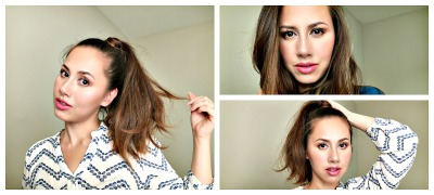 How to: Perfect High Ponytail + Trick To Minimize Thin Hairline