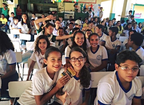 SHARING THE GOSPEL IN BRAZIL SCHOOLS!