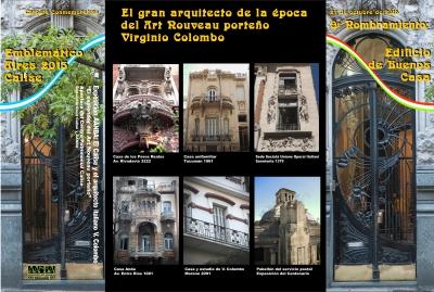 "Carpeta Conmemorativa Lacrada ""Edificio Calise"""