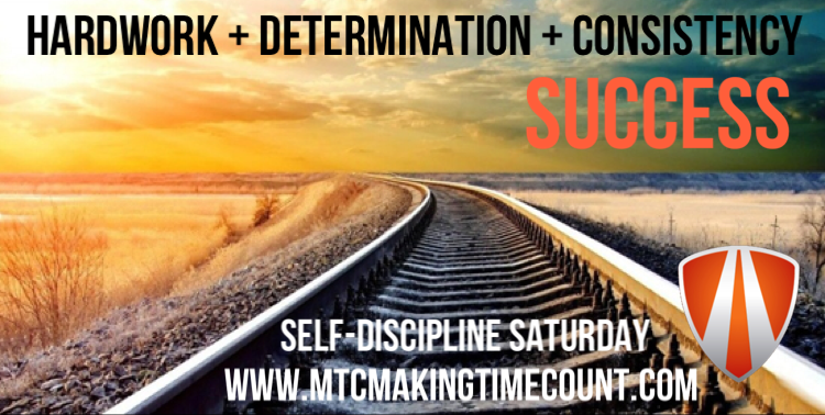Self-Discipline Saturday: Be Consistent