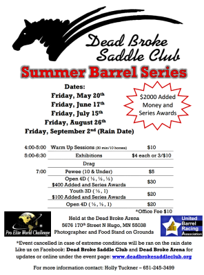 Dead Broke Summer Barrel Series