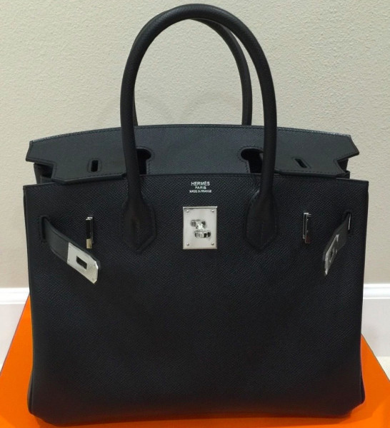 hermes inspired bag - hermes birkin 30 epsom leather blue paon phw, purses hermes