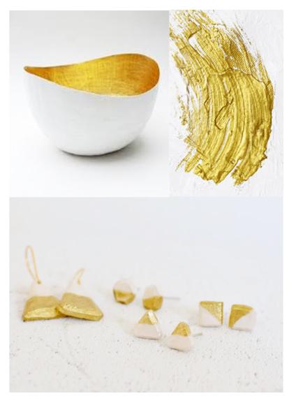 handmade, handcrafted, handmade jewellery, gold dip, minimalism, simple, fashion, minimal fashion, handmade earrings, handcrafted earrings, made in amsterdam, clay jewelly