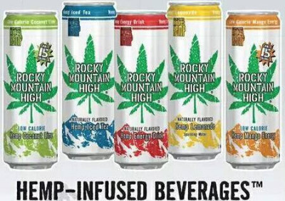 Rocky Mountain High  Hemp Infused Beverages