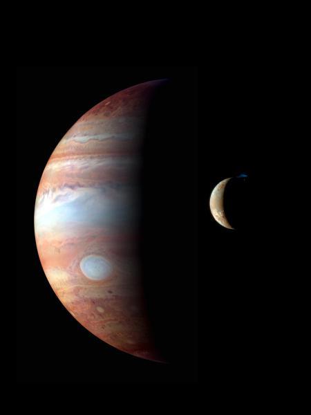 Jupiter Io NASA