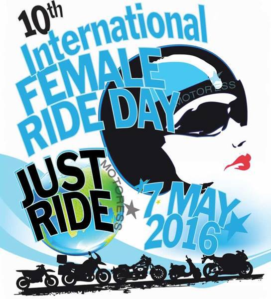 International Female Ride Day - will you be taking part?