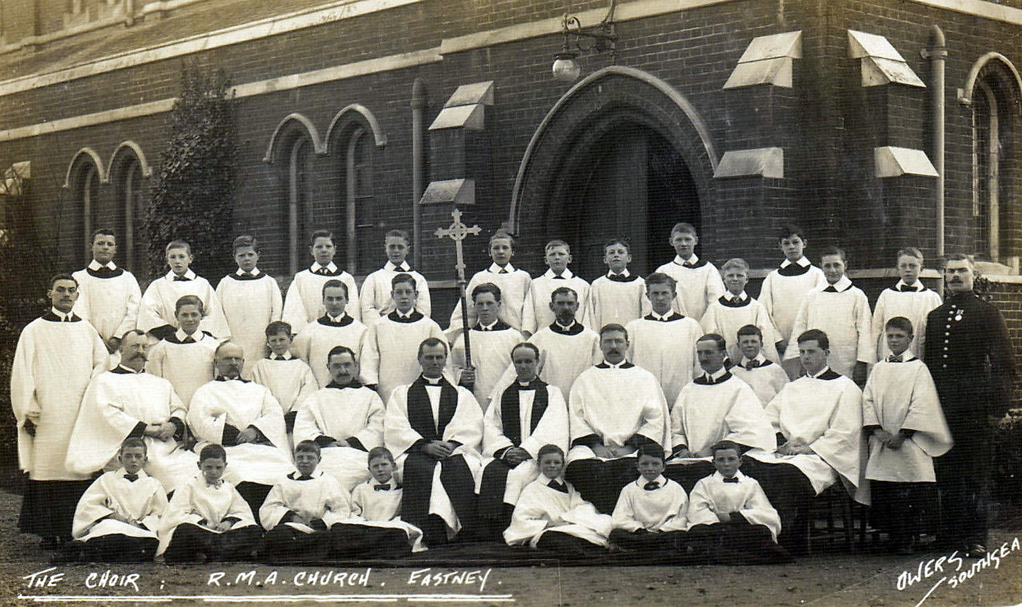 Eastney  Royal Marine Artillery Church, 1920
