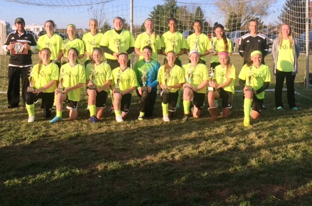 U14/15 Girls MOSSL Gold Division Champions!