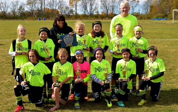 U10 Girls MOSSL Gold Division Finalists!