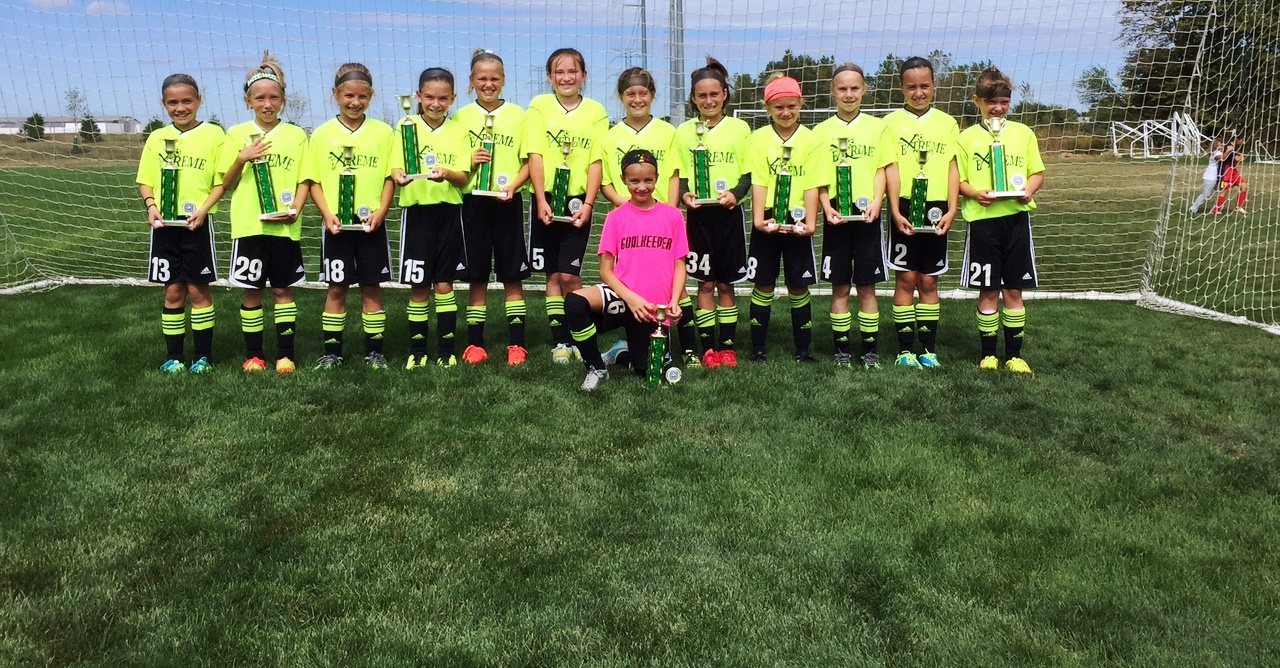 U10 Girls Dublin United Champions Cup Champs!