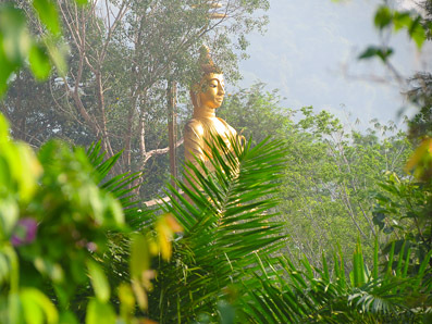 Buddha near the beach