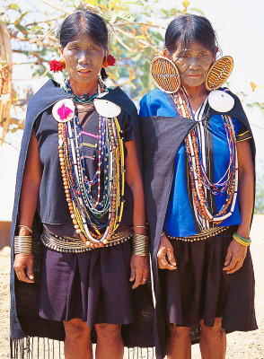 Myanmar tribal fashion