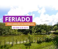 Promoção de Proclamação da República - Hotel Paraíso das Águas - Bahia