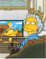 The Simpsons signed photo