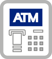 ATM Machine Logo