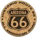 Old Historic Route 66 Sign