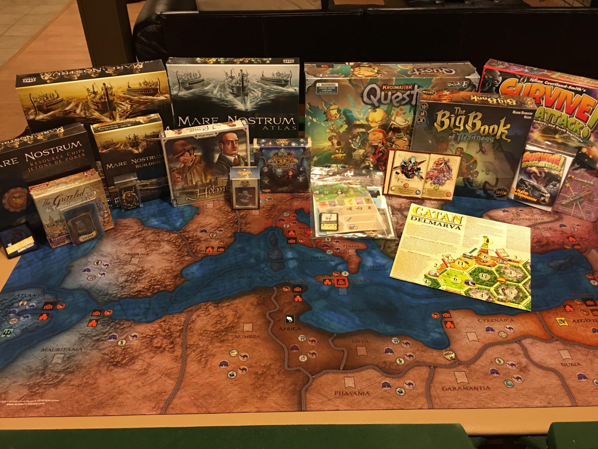 Origins 2016: Days 4 & 5