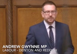 Andrew Gwynne MP - January 2016