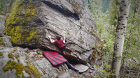 Eagle pass boulders in Revelstoke