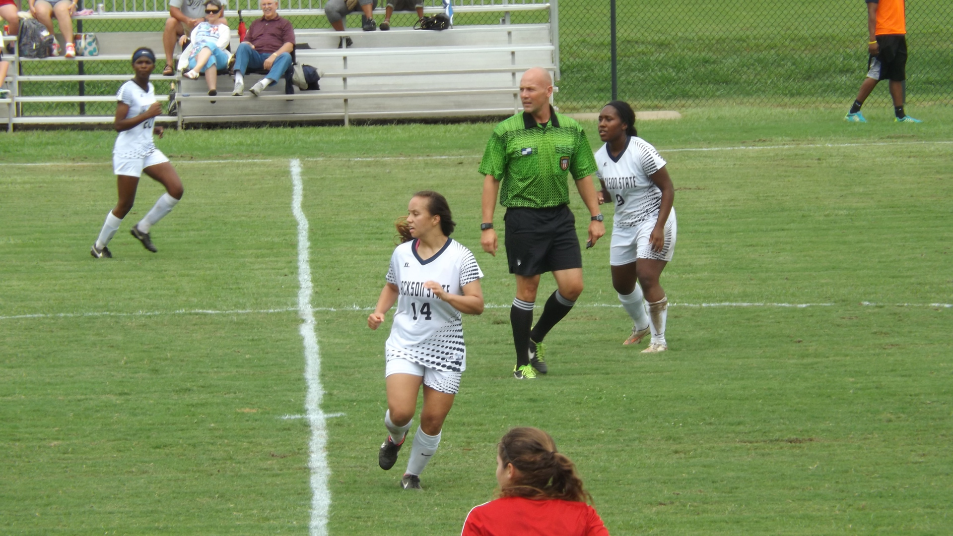 SOC - Aug. 21: Lady Tigers Fall 0-2 to SLU in Season Opener