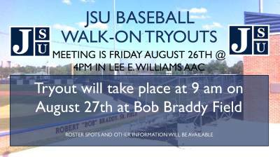 BSB - Aug. 25: Baseball to hold tryouts Saturday