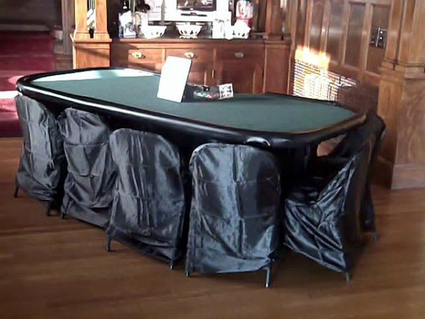 """High end"" casino tables (w/chairs included), at not so high-end prices."