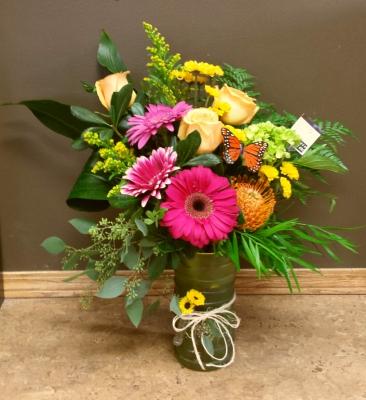 Mixed Seasonal Vase