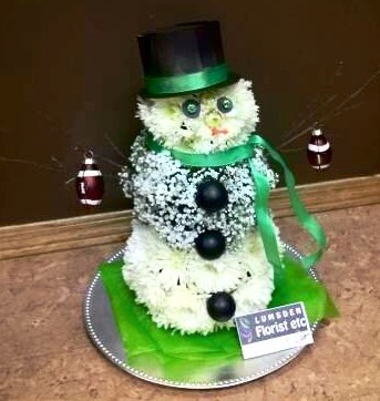 snowman, winter, cute, holiday