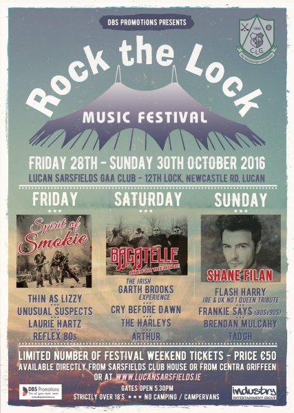 Lucan gig - 30th October 2016