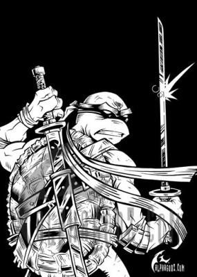 Tales of the TMNT #41 - Frontispiece