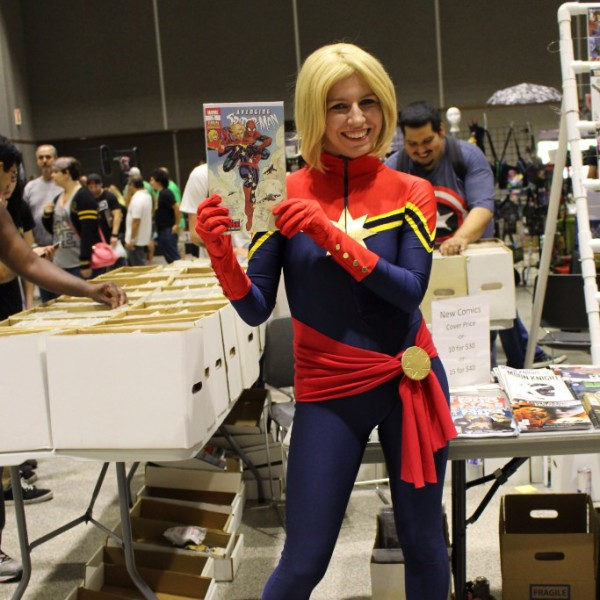 A convention for comic book fans!