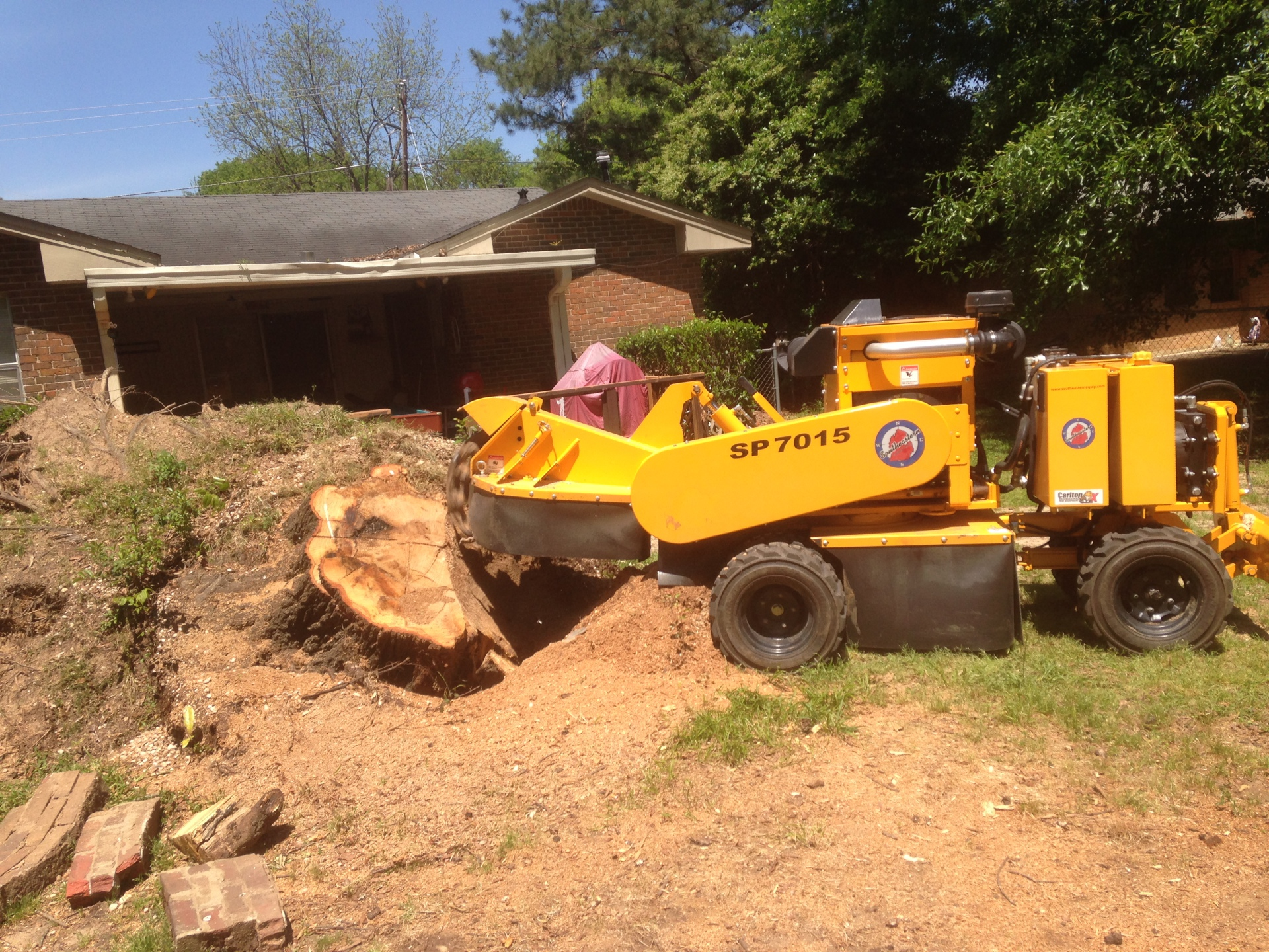 Stump Grinding Prattville