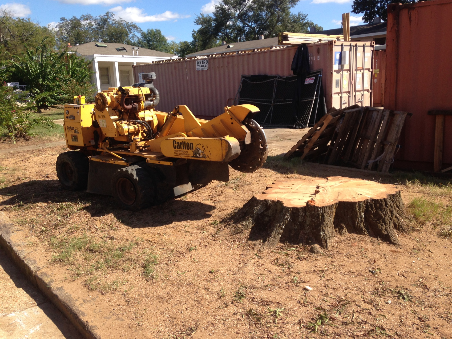 Stump Grinding Montgomery