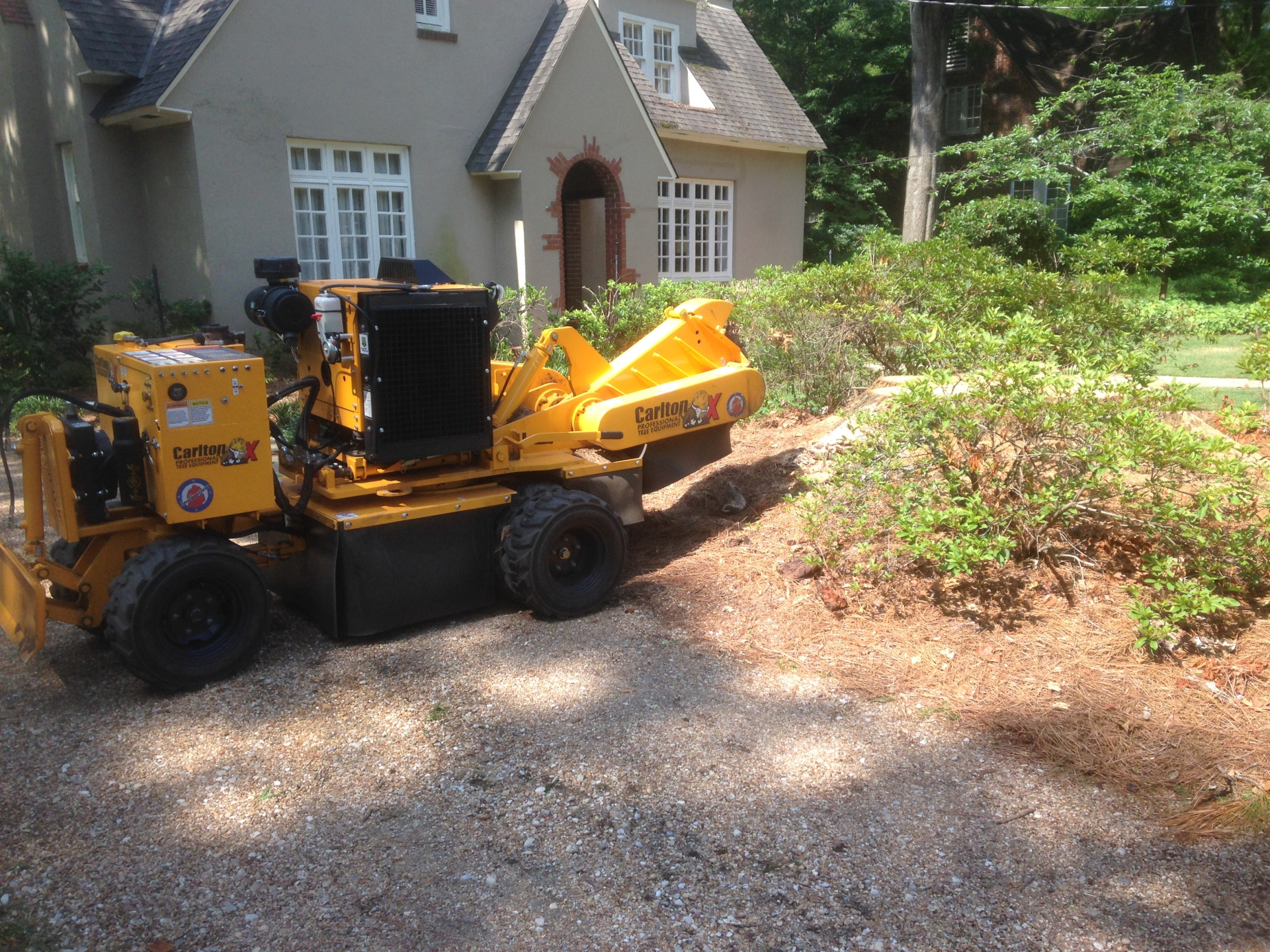 Stump Removal in Montgomery