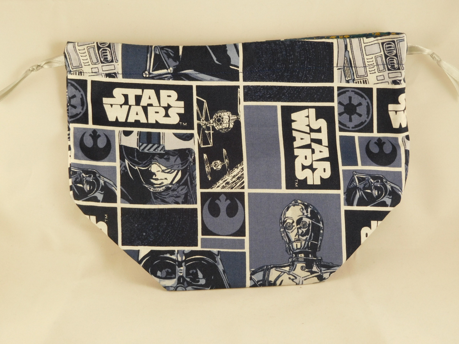 Star Wars Fabric Drawstring Bag