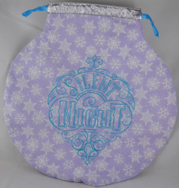 Ornament Shaped Gift Bag
