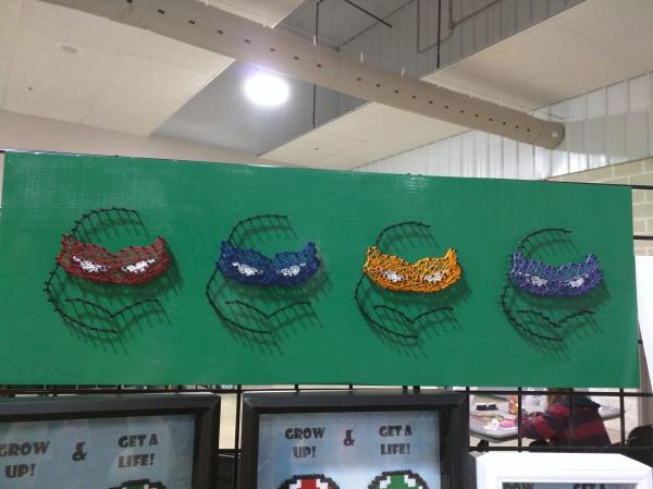Turtles String Art