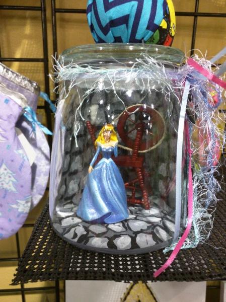 Princess Diorama in jar