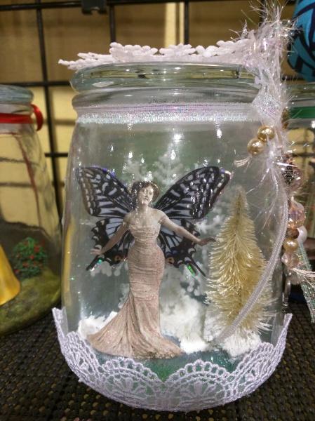 Fairy Diorama in jar