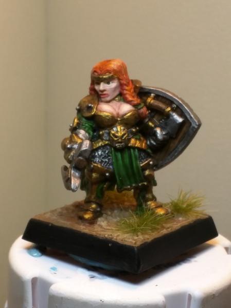 Painted miniature
