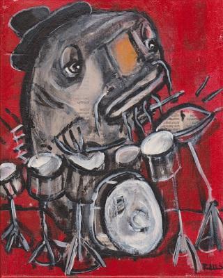 Blues Cat Drums