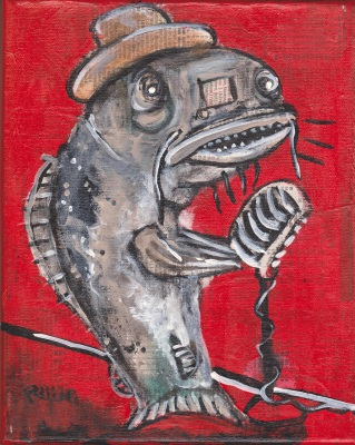 Blues Cat Singer