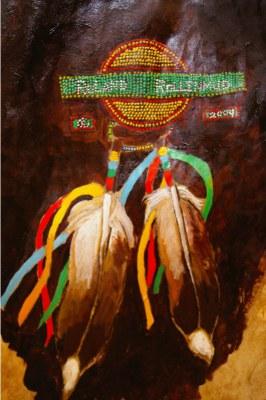 Detail of Rawhide Dancer