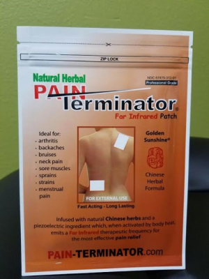 PAIN TERMINATOR INFRARED PAIN PATCH