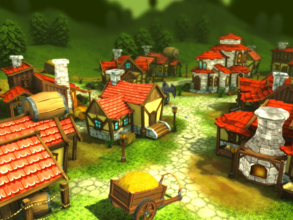 Medieval Village - Low Poly Package